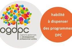 OGDPC Logo habilité à dispenser des programmes de DPC